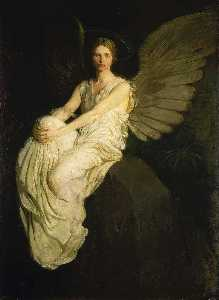 Order Oil Painting : Stevenson Memorial, 1903 by Abbott Handerson Thayer (1849-1921, United States) | WahooArt.com