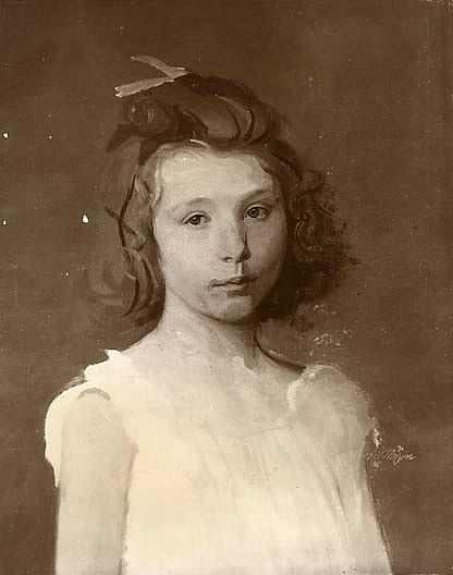 Beatrice, (painting), Oil by Abbott Handerson Thayer (1849-1921, U.S)