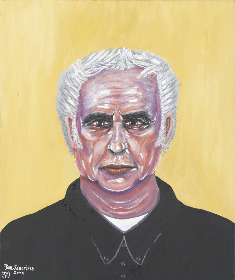 Self Portrait, 2006 by Paul Schofield | Painting Copy | WahooArt.com