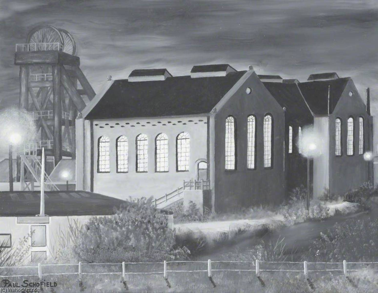 Colliery, Grey II, 2006 by Paul Schofield | Museum Quality Reproductions | WahooArt.com