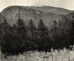 Abbott Handerson Thayer - Winter Sunrise, Monadnock, (painting)
