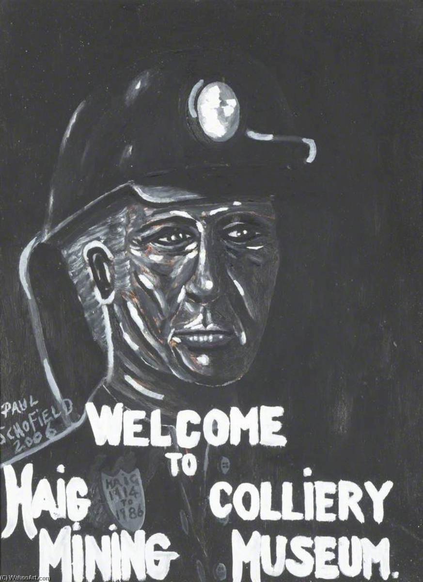 Welcome, 2006 by Paul Schofield | Painting Copy | WahooArt.com