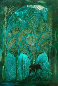 Sidney Herbert Sime - Woods and Dark Animals