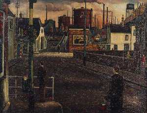 Charles Byrd - Steel Works, Adamsdown