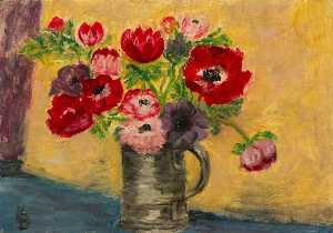 Myfanwy Baker - Still Life with Flowers