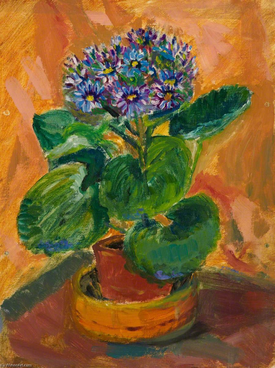 Potted Flower by Myfanwy Baker | Museum Quality Reproductions | WahooArt.com