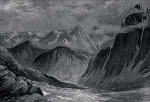 Order Art Reproductions | Chelan, (painting), 1911 by Von Luerzer (1851-1913) | WahooArt.com