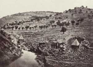 Francis Frith - The Valley of Jehoshaphat, Jerusalem (Plate 14)