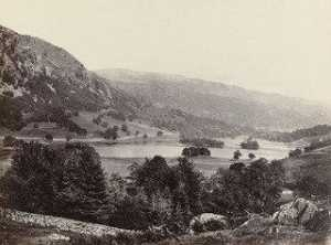 Francis Frith - Rydal Water from Loughrigg Terrace