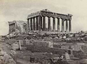 Francis Frith - The Parthenon, Athens, from the East ( 623)
