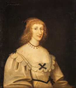 George Jamesone - Lady Margaret Douglas (1610–1678), Marchioness of Argyll, Wife of the 1st Marquess of Argyll