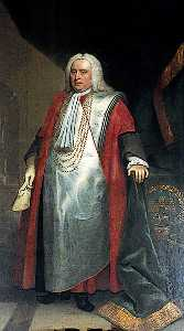 John Theodore Heins Senior - William Wiggett (1693 1694–1768), Mayor of Norwich (1742)