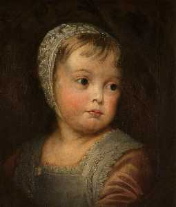Thomas Robson - James II (1633–1701), as a Child (copy after Anthony van Dyck)