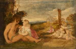 Thomas Robson - The Three Ages of Man (copy after Titian)