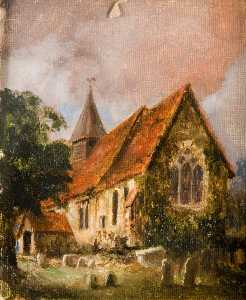 Charles Langton Lockton - All Saints' Church, before Enlargement