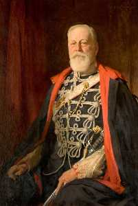 Samuel Henry William Llewellyn - Sir Reginald Hardy (1848–1938), 2nd Bt, of Dunstall Park
