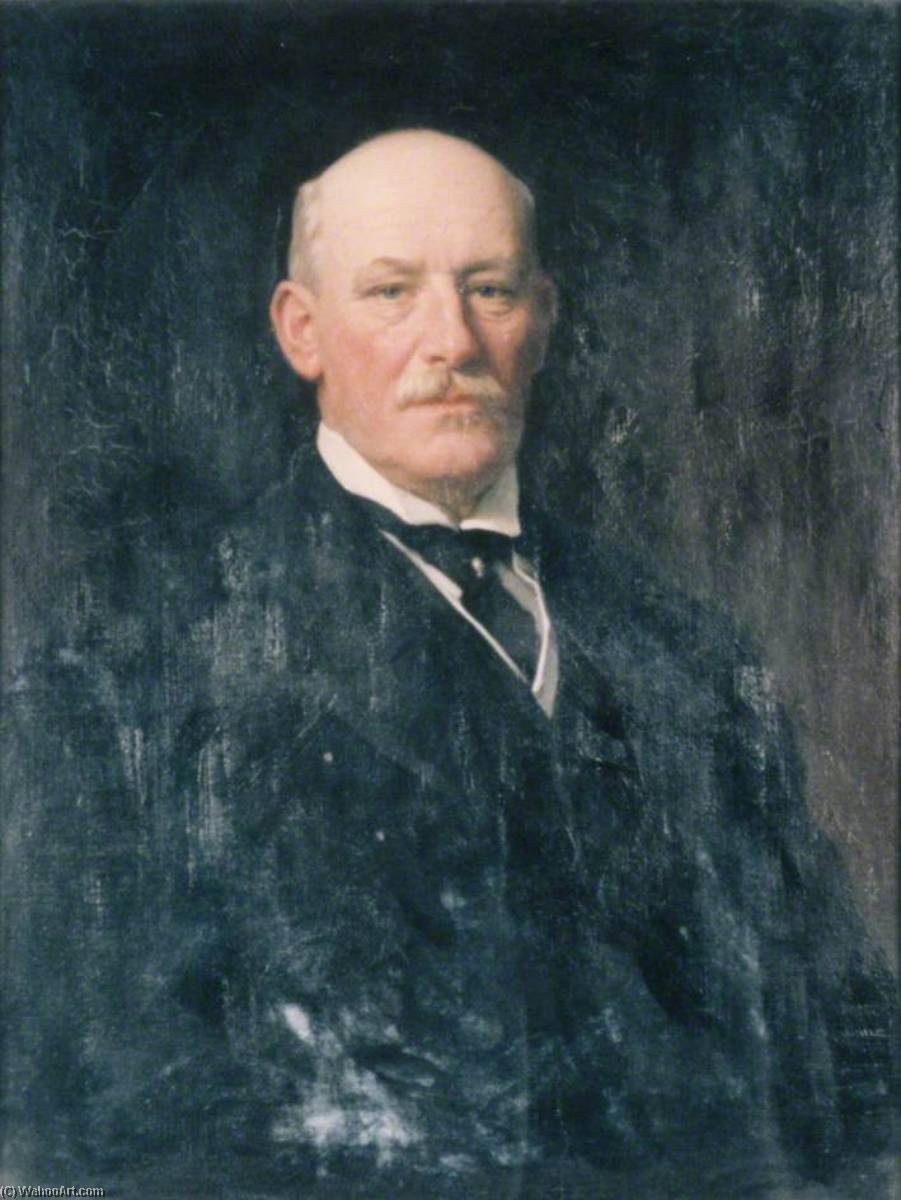 Herbert Francis Eaton (1848–1925), Lord Cheylesmore, Oil On Canvas by Samuel Henry William Llewellyn