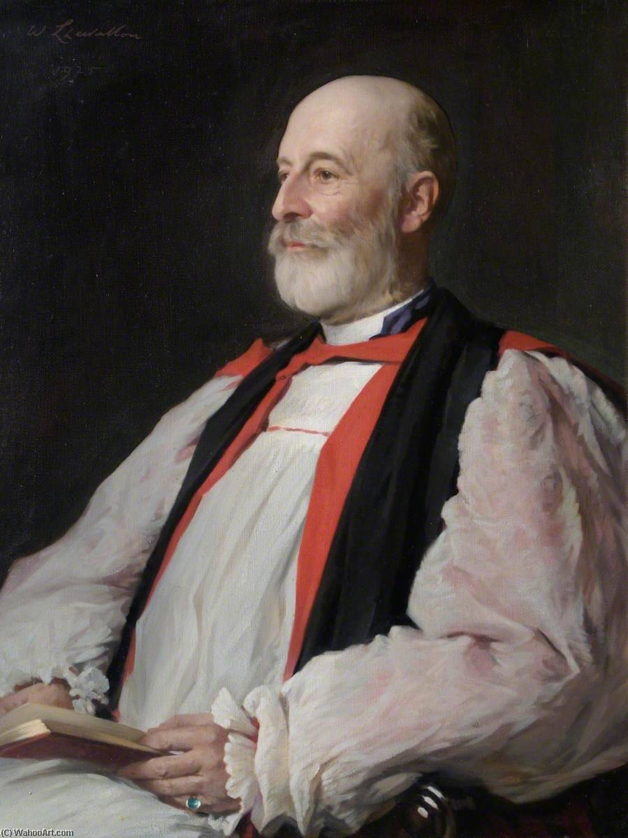 The Bishop of Llandaff, 1925 by Samuel Henry William Llewellyn | Art Reproduction | WahooArt.com