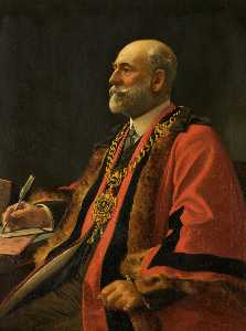 George Frederick Harris - Alderman Seymour Berry as Mayor