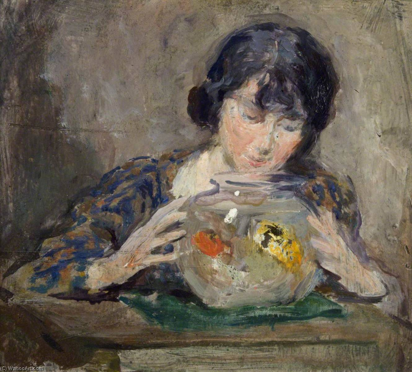 The Goldfish Bowl by Charles Hodge Mackie | WahooArt.com