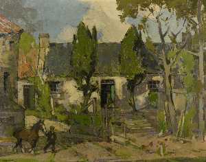 John Guthrie Spence Smith - Farm Cottages, Ceres