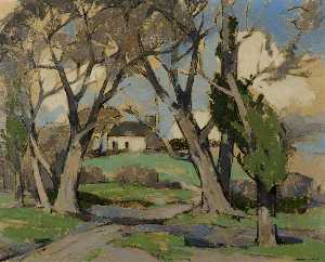 John Guthrie Spence Smith - Springtime at Anworth