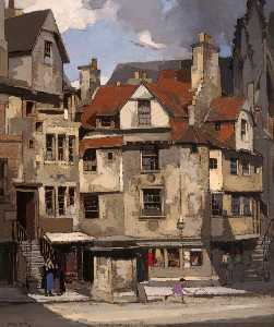 John Guthrie Spence Smith - John Knox's House, High Street, Edinburgh