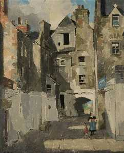 John Guthrie Spence Smith - Huntly House, Canongate