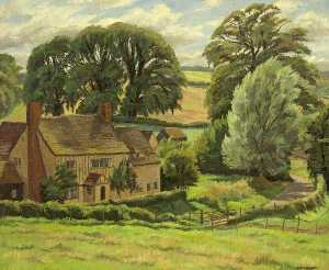 Donald Ewart Milner - A Suffolk Farm