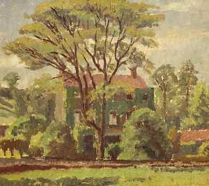 Donald Ewart Milner - House at Long Ashton