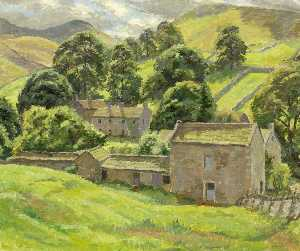 Donald Ewart Milner - After Rain, Thorpe in Craven