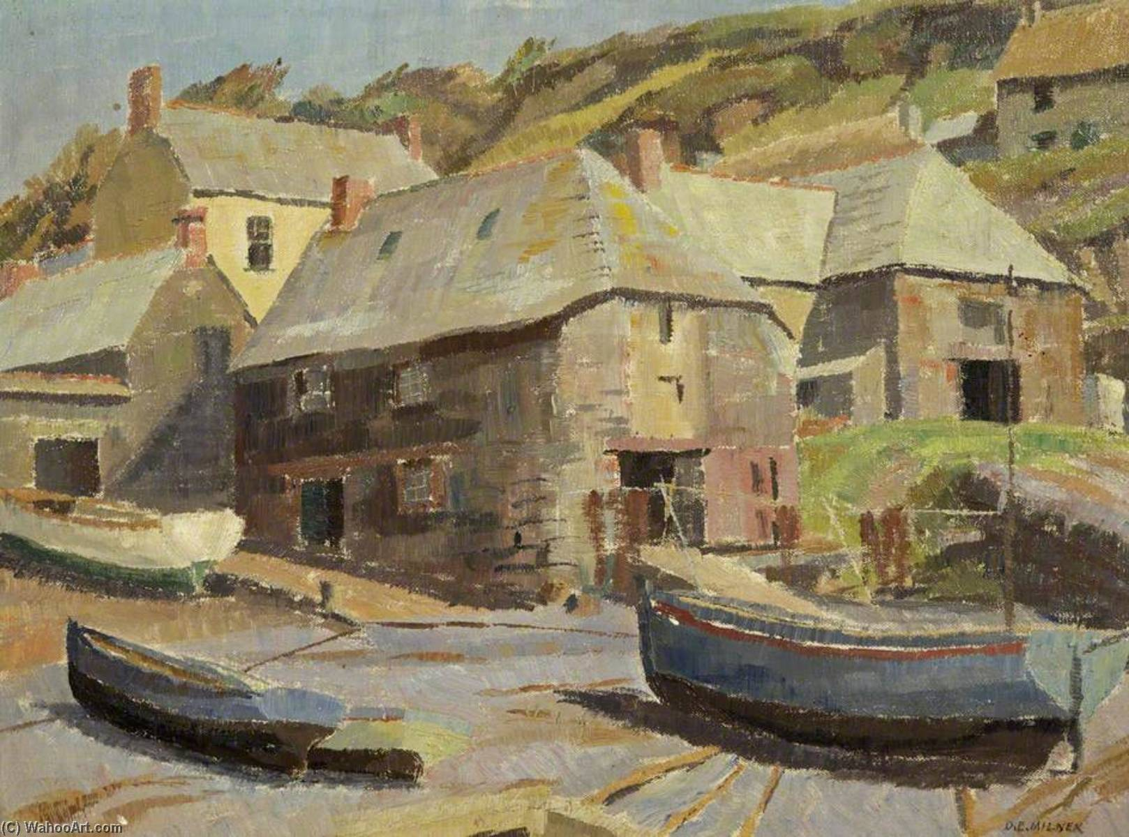 The Slipway by Donald Ewart Milner | Museum Quality Reproductions | WahooArt.com