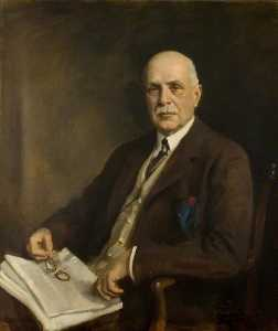 Oswald Hornby Joseph Birley - Colonel Charles Elton Longmore (d.1930), County Treasurer (1878–1894), Clerk of the Peace and Chairman of the County Council (1894–1930), Honorary Colonel 1st Hertfordshire Regiment (1921–1930)