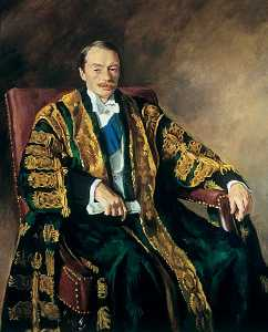 Oswald Hornby Joseph Birley - Edward Spencer Cavendish (1895–1950), KG, LLD, 10th Duke of Devonshire, Chancellor of the University of Leeds (1938–1950)