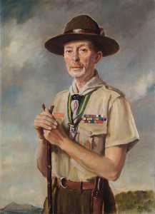 Oswald Hornby Joseph Birley - Lord Somers (1887–1944), KCMG, DSO, MC, as Chief Scout