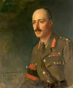 Oswald Hornby Joseph Birley - Major General Warren Hastings Anderson (1872–1930), Valenciennes, December 1918