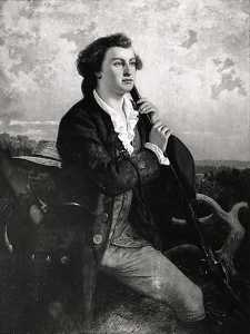 Emanuel Gottlieb Leutze - Washington as the Young Surveyor, (painting)
