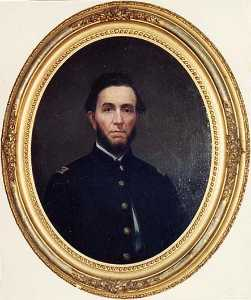 George Cale - Capt. Abraham Ellis Strickle, U.S. Army Subsistance Department, (painting)
