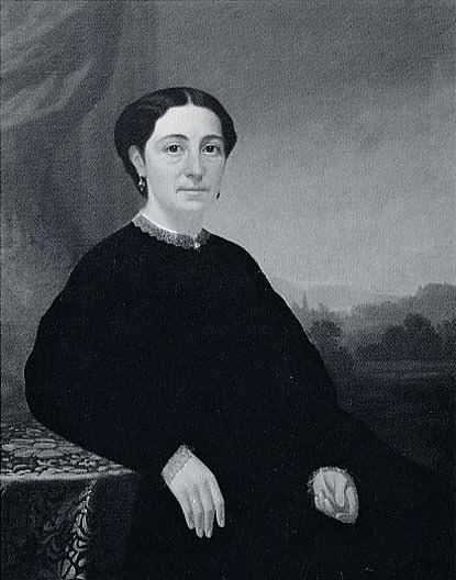 Elizabeth Carpenter Griffin, (painting), 1860 by George Cale | Art Reproductions George Cale | WahooArt.com