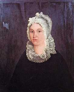 George Cale - Mrs. William Johnson (Rachel Spears), (painting)