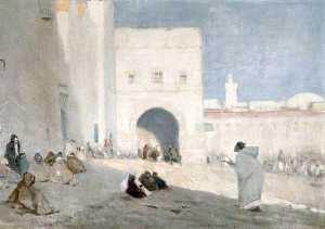James Mcbey - Tetouan Market Place, Morocco