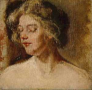 Alice Pike Barney - Blonde Studio Model