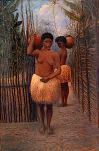 Antonion Zeno Shindler - Papuan Women