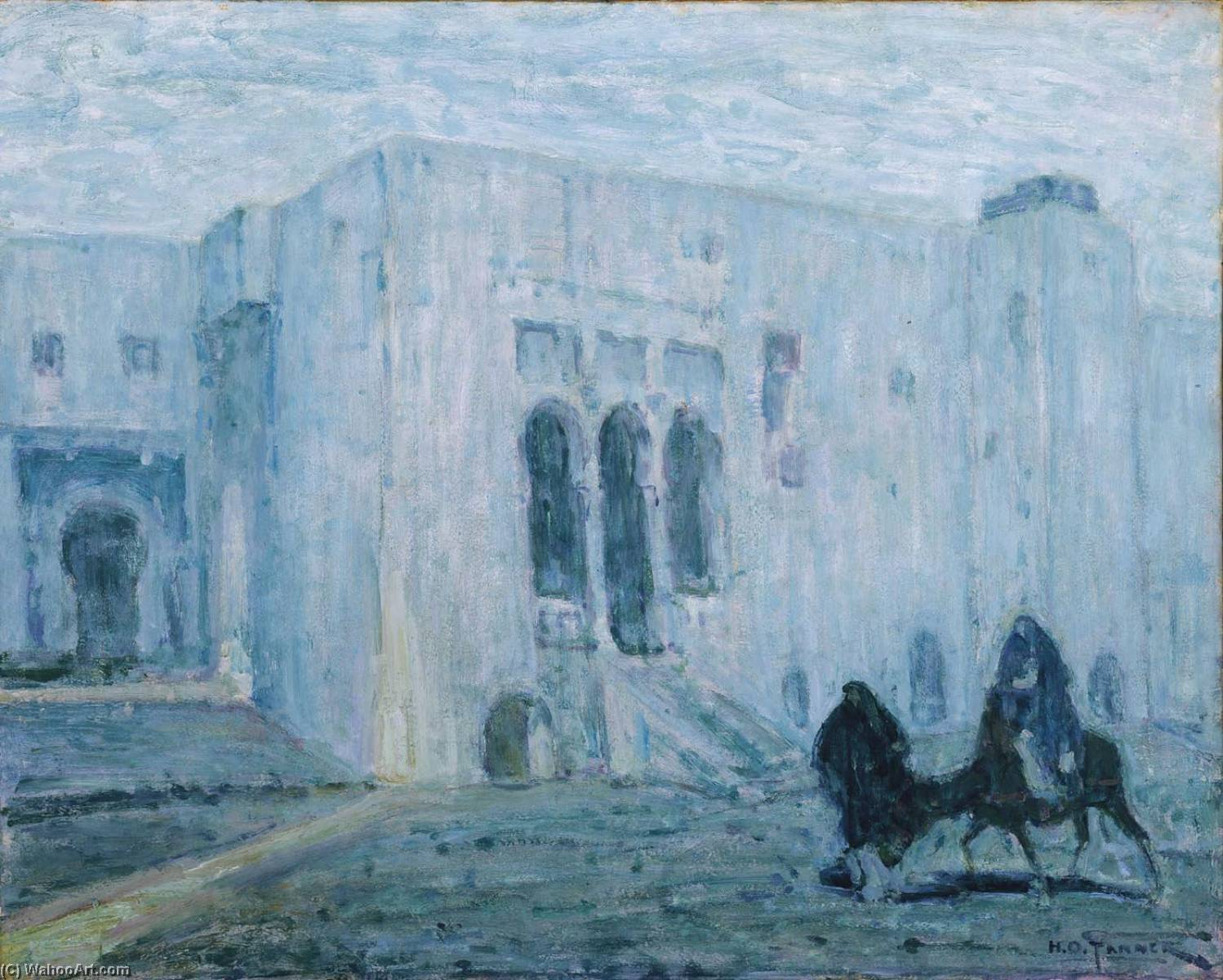 Palace of Justice, Tangier, 1913 by Henry Ossawa Tanner (1859-1937, United States) | Art Reproduction | WahooArt.com