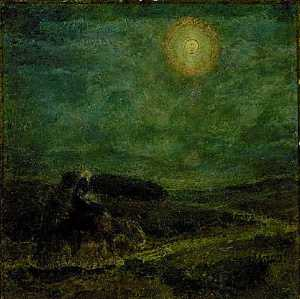 Henry Ossawa Tanner - Flight into Egypt, (painting)