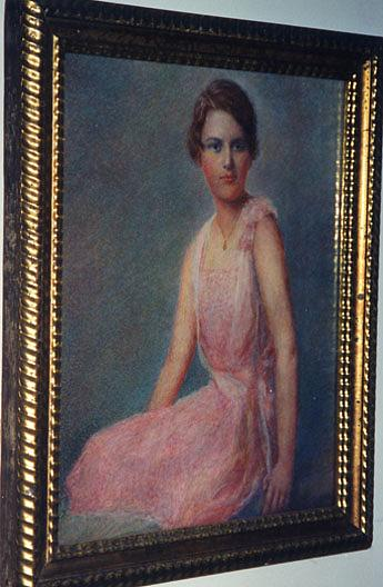 Portrait of Ann Morehouse (Center), (painting), 1926 by Katherine Beatrice Mcnaughton Mowry (1846-1931) | Famous Paintings Reproductions | WahooArt.com