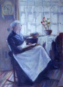 Katherine Beatrice Mcnaughton Mowry - Great Aunt Mary Robertson, (painting)