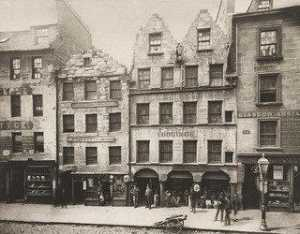 Thomas Annan - Old Buildings in High Street