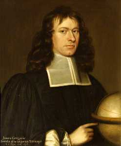 John Scougal - James Gregory (1638–1675), MA, FRS