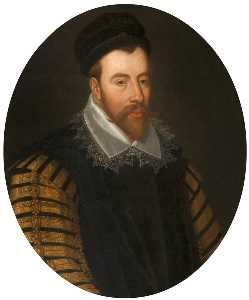 John Scougal - John Maitland (c.1545–1595), Lord Thirlestane, Chancellor of Scotland (after an earlier painter)
